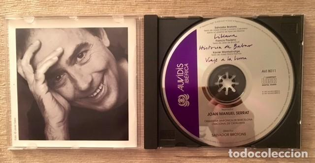 CDs de Música: JOAN MANUEL SERRAT - ORQUESTA SINFÓNICA DE BARCELONA - VIAJE A LA LUNA - Foto 3 - 193549268