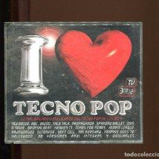 CDs de Música: TECNO POP. 3 CD'S. BLANCO Y NEGRO 1999. BOX 3 CD . Lote 193574422