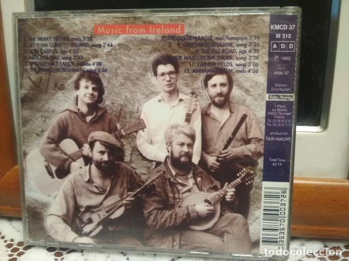 CDs de Música: TAXI MAUVE FAR OFF FIELDS ( MUSIC FROM IRELAND ) CD ALBUM 1992 PEPETO - Foto 2 - 193636498