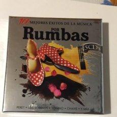 CDs de Música: 100 MEJORES ÉXITOS DE LA MÚSICA POR RUMBAS. Lote 193654986