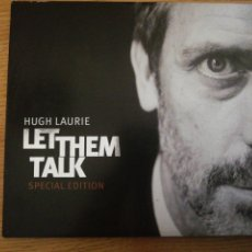 CDs de Música: HUGH LAURIE. LET THEM TALK. SPECIAL EDITION. WARNER BROS RECORDS, 2011. Lote 193656803