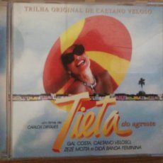 CDs de Música: TIETA DO AGRESTE. BSO CAETANO VELOSO, 1996.. Lote 193657148