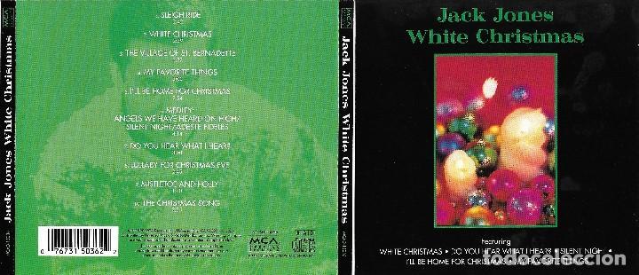 JACK JONES - WHITE CHRISTMAS - DESCATALOGADO (Música - CD's Melódica )
