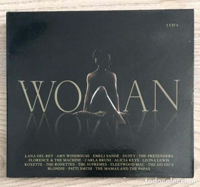 LADY GAGA, ALICIA KEYS, PATTI SMITH, A WINEHOUSE, CARLA BRUNI, LANA DEL REY... WOMAN - 3 CDS (Música - CD's Pop)