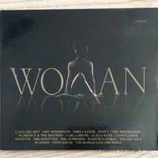 CDs de Música: LADY GAGA, ALICIA KEYS, PATTI SMITH, A WINEHOUSE, CARLA BRUNI, LANA DEL REY... WOMAN - 3 CDS. Lote 193714808