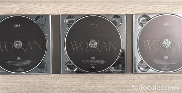 CDs de Música: LADY GAGA, ALICIA KEYS, PATTI SMITH, A WINEHOUSE, CARLA BRUNI, LANA DEL REY... WOMAN - 3 CDs - Foto 3 - 193714808