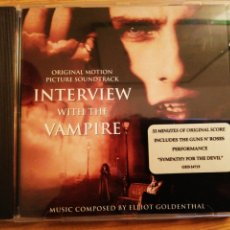 CDs de Música: INTERVIEW WITH THE VAMPIRE. BSO ELLIOT GOLDENTHAL. GEFFEN RECORDS, GERMANY, 1994.. Lote 193764623