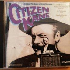CDs de Música: CITIZEN KANE. BANDA SONORA ORIGINAL BERNARD HERRMANN. RCA VICTOR 1989.. Lote 193783142