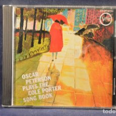 CD di Musica: OSCAR PETERSON - PLAYS THE COLE PORTER SONG BOOK - CD . Lote 193801043