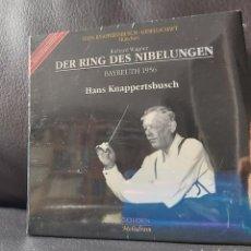 CDs de Música: WAGNER . DER RING EL ANILLO. KNAPPERSTBUSCH.BAYREUTH 1956 PRECINTADO. Lote 193826278
