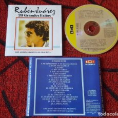 CDs de Musique: LATIN TANGO RUBEN JUAREZ ** 20 GRANDES EXITOS ** ORIGINAL ARGENTINA CD 1983. Lote 193832192