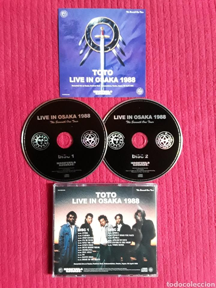 TOTO: LIVE IN OSAKA 1988. 2CD'S. LIVE AT OSAKA FESTIVAL HALL 20 APRIL 1988,OSAKA, JAPAN. (Música - CD's Rock)