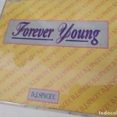 CDs de Musique: D.J. SPACE´C FOREVER YOUNG CD MAXI SINGLE PROMO ESPAÑA 1992 CONTIENE 4 TEMAS ALPHAVILLE. Lote 193835383