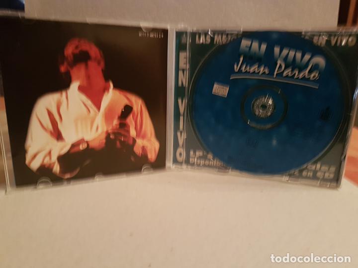 CDs de Música: cd en vivo juan pardo buen estado ver fotos - Foto 2 - 193851887