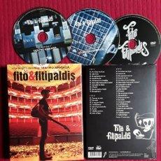 CDs de Música: FITO & FITIPALDIS: EN DIRECTO DESDE EL TEATRO ARRIAGA. 2CDS + DVD 2014. Lote 205725225