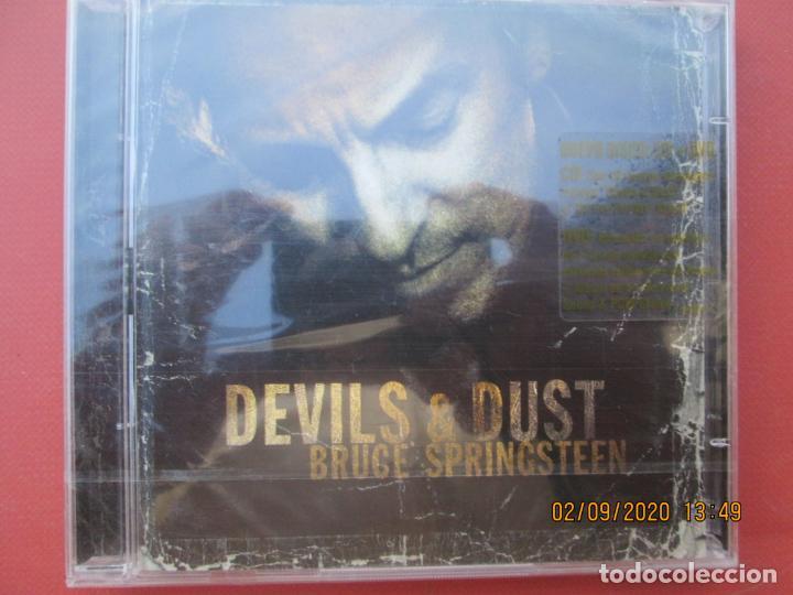 BRUCE SPRINGSTEEN -DEVILS & DUST - PRECINTADO -CD+DVD -2005 (Música - CD's Disco y Dance)