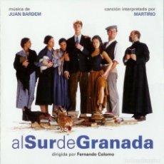 CDs de Música: AL SUR DE GRANADA / JUAN BARDEM CD BSO. Lote 193867082