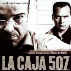 CDs de Música: LA CAJA 507 / MARIO DE BENITO CD BSO. Lote 193867256