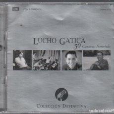 CDs de Música: LUCHO GATICA. 50 CANCIONES INMORTALES. DOBLE CD DE 2002 RF-6310. Lote 208700116