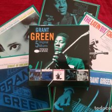 CDs de Música: GRANT GREEN - 5 ORIGINAL ALBUMS - 5 X CD - BLUE NOTE IDLE MOMENTS LATIN BIT I WANT TO HOLD YOUR HAND. Lote 193901128
