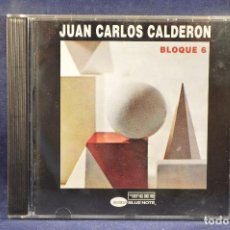 CDs de Música: JUAN CARLOS CALDERON - BLOQUE 6 - CD. Lote 193902345