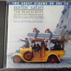 CDs de Música: SURFIN' SAFARI. THE BEACH BOYS. CAPITOL 1990.. Lote 193936493