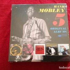 CDs de Música: HANK MOBLEY - 5 ORIGINAL ALBUMS - 5 X CD - PRECINTADO - NO RROM FOR SQUARES ROLL CALL PECKIN' TIME . Lote 193943978