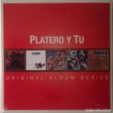 CDs de Música: PLATERO Y TU, ORIGINAL ALBUM SERIES, WARNER MUSIC SPAIN-564622493, NUEVO, SIN ABRIR. Lote 235188320