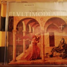 CDs de Música: EL ÚLTIMO DE LA FILA. LA REBELIÓN DE LOS HOMBRES RANA.. Lote 193956253