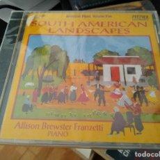 CDs de Música: ALLISON BREWSTER FRANZETTI -PIANO -SOUTH AMERICAN LANDSCAPES -CD. Lote 193957673