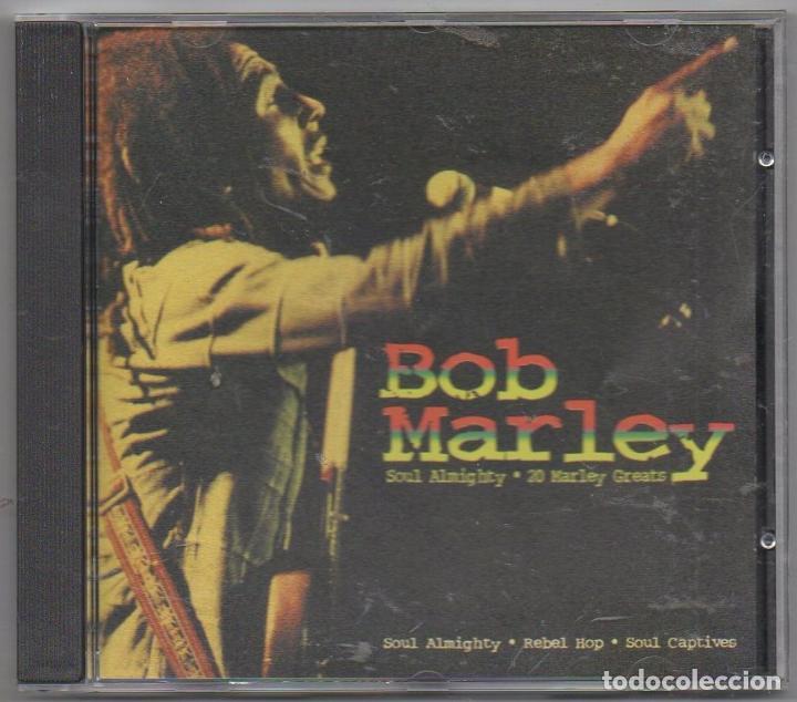 BOB MARLEY - SOUL ALMIGHTY. 20 MARLEY GREATS / CD ALBUM DE 1999 / MUY BUEN ESTADO RF-4669 (Música - CD's Reggae)