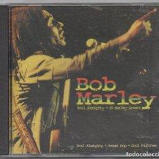 CDs de Música: BOB MARLEY - SOUL ALMIGHTY. 20 MARLEY GREATS / CD ALBUM DE 1999 / MUY BUEN ESTADO RF-4669. Lote 193961610