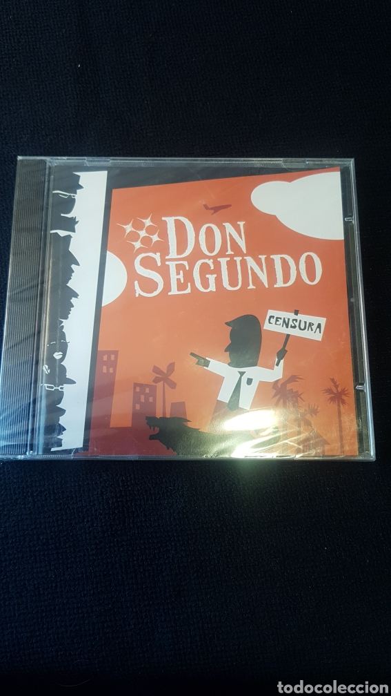 DON SEGUNDO...CENSURA...2008 (Música - CD's Reggae)