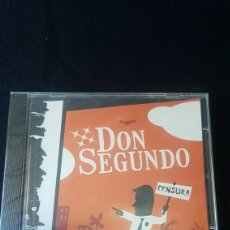 CDs de Música: DON SEGUNDO...CENSURA...2008. Lote 193968853