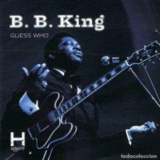 CDs de Música: B. B. KING - GUESS WHO. CD. Lote 193981545