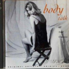 CDs de Música: BODY TALK. 60 SOUL CLASSICS. SHALAMAR.MARVIN GAYE.HOT CHOCOLATE...DOBLE CD. Lote 193988507