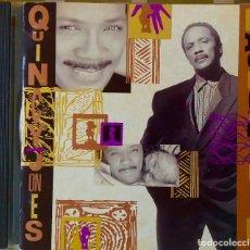 CDs de Música: QUINCY JONES. BACK ON THE BLOCK. CON J. ZAWINUL.H. HANCOCK.E.FITZGERALD.G. DUKE.M.DAVIS...CD. Lote 193992101