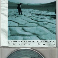 CDs de Música: JOHNNY CLEGG AND SAVUKA - THESE DAYS / FOREIGN NIGHTS / ROLLIN OCEAN. Lote 193992643