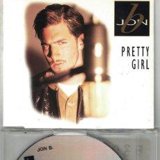 CDs de Música: JON B. - PRETTY GIRL (FIVE VERSIONS) (CDSINGLE CAJA, SONY MUSIC 1995). Lote 193992747