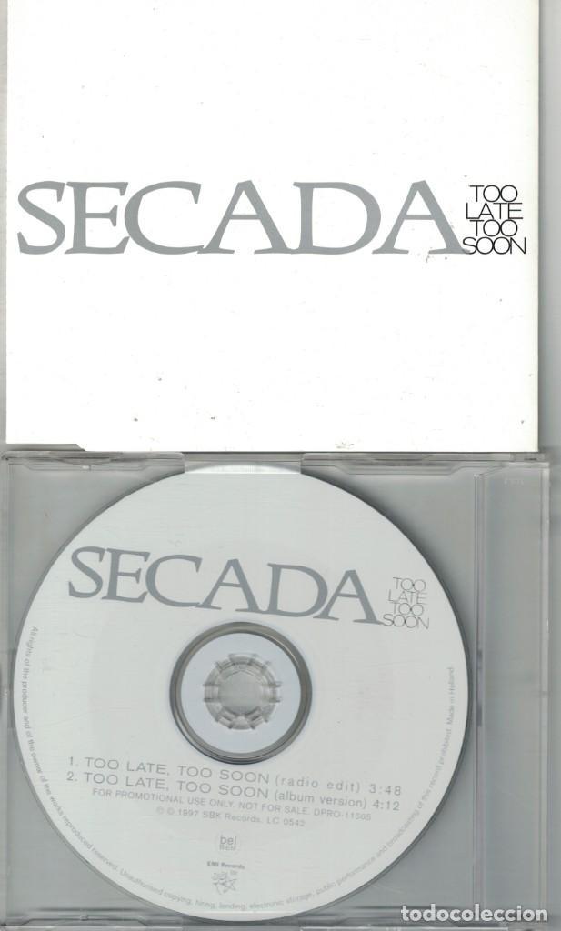 jon secada - too late too soon (two versions) ( - Comprar ...