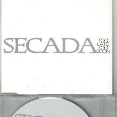CDs de Música: JON SECADA - TOO LATE TOO SOON (TWO VERSIONS) (CDSINGLE CAJA PROMOCIONAL, SBK RECORDS 1997). Lote 193992830