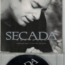 CDs de Música: JON SECADA - AMANDOLO (TWO VERSIONS) (CDSINGLE CAJA PROMOCIONAL, SBK RECORDS 1997). Lote 193992877