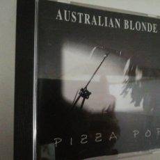 CDs de Música: AUSTRALIAN BLONDE. PIZZA POP. SUBTERFUGE RECORDS, MADRID, 1993.. Lote 194011888