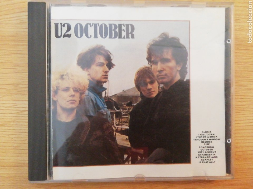 U2 OCTOBER. ARIOLA EURODISC, 1981 (Música - CD's Rock)