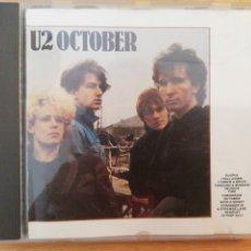 CDs de Música: U2 OCTOBER. ARIOLA EURODISC, 1981. Lote 194012043