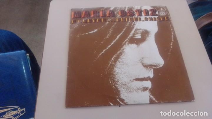 LOTE B- DISCO VINILO MARIA OSTIZ (Música - CD's Flamenco, Canción española y Cuplé)