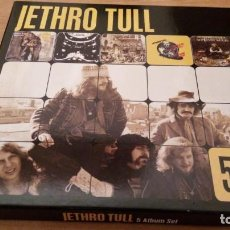 CDs de Música: JETHRO TULL 5 ALBUM SET - 5 CDS BOX SET *IMPECABLE*. Lote 193283893