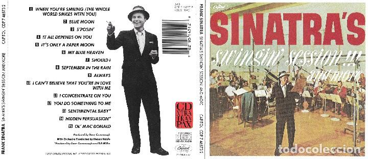 FRANK SINATRA - SWINGIN' SESSION!!! AND MORE (Música - CD's Melódica )