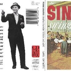 CDs de Música: FRANK SINATRA - SWINGIN' SESSION!!! AND MORE. Lote 194091700