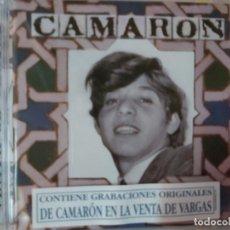CDs de Música: CAMARÓN DE LA ISLA - VENTA DE VARGAS (CD) PRECINTADO. Lote 194094743